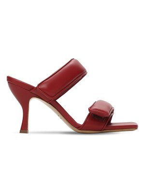 GIA X PERNILLE TEISBAEK 80mm padded leather strappy sandals
