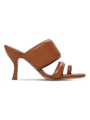 GIA X PERNILLE TEISBAEK 80mm padded leather thong sandals
