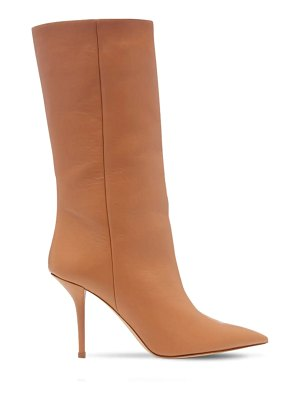 GIA X PERNILLE TEISBAEK 85mm mid high leather boots