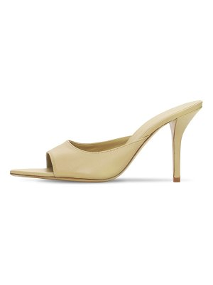 GIA X PERNILLE TEISBAEK 85mm pointed toe leather mules