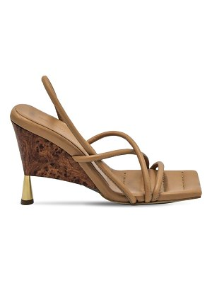 GIA X RHW 100mm rosie 2 leather sandals