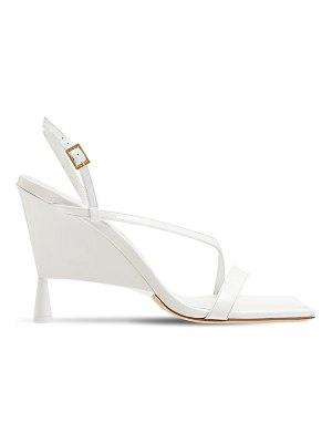 GIA X RHW 100mm rosie 5 patent leather sandals