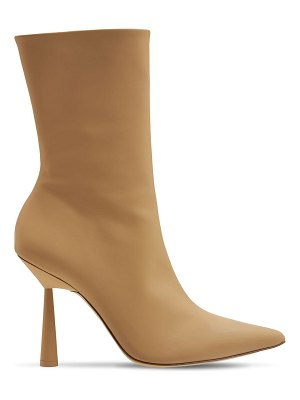 GIA X RHW 100mm rosie 7 rubberized ankle boots