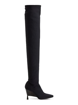 GIA X RHW 100mm rosie 9 stretch over-the-knee boot