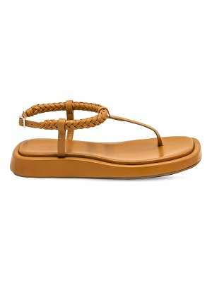GIA X RHW 20mm rosie 3 leather thong sandals