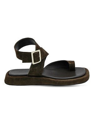 GIA X RHW 20mm rosie 4 suede thong sandals