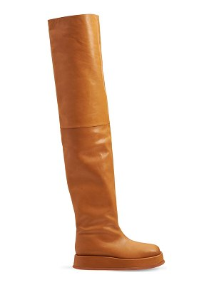 GIA X RHW 40mm rosie 10 faux leather boots