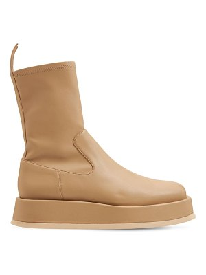 GIA X RHW 40mm rosie 11 faux leather ankle boots