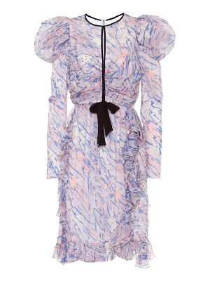 Giambattista Valli abstract-floral silk dress