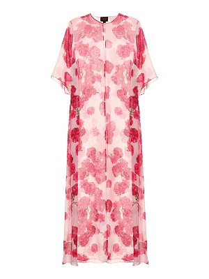 Giambattista Valli Floral-printed silk maxi dress