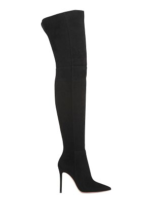 Gianvito Rossi 100mm suede over-the-knee-boots