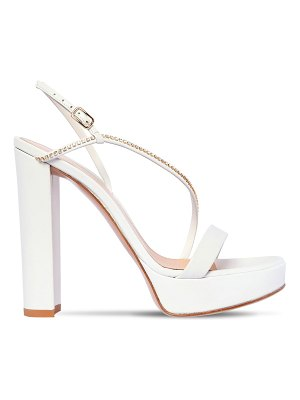 Gianvito Rossi 120mm leather platform sandals