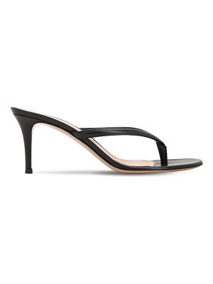 Gianvito Rossi 70mm leather thong sandals