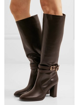 Gianvito Rossi 85 leather knee boots