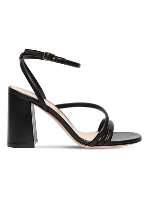 Gianvito Rossi 85mm leather sandals