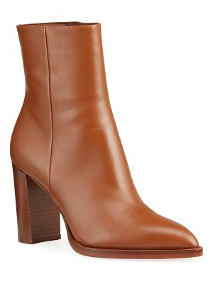 Gianvito Rossi 85mm Point-Toe Double-Sole Booties