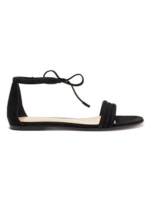 Gianvito Rossi ankle-tie suede sandals