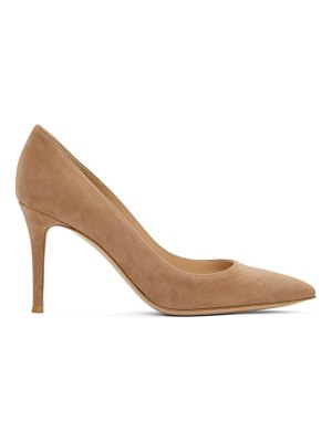 Gianvito Rossi brown gianvito 85 heels