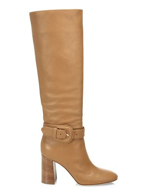 Gianvito Rossi buckle tall leather boots