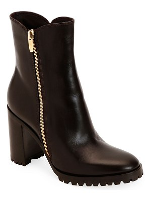 Gianvito Rossi Calf Leather Zip Booties