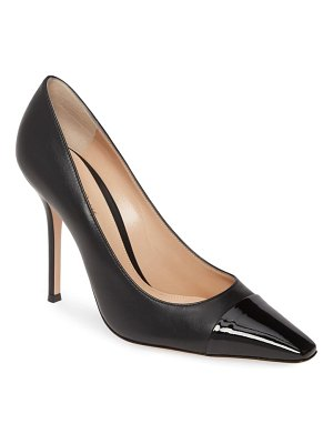 Gianvito Rossi cap toe pump