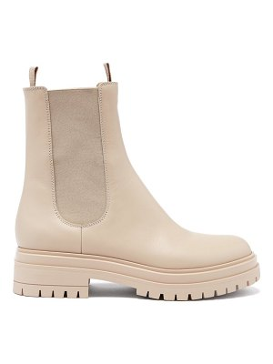Gianvito Rossi chester trek-sole leather chelsea boots