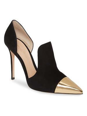 Gianvito Rossi cutout pump