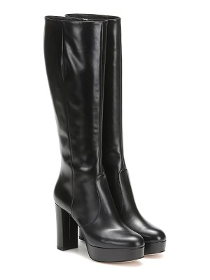 Gianvito Rossi dominique knee-high leather boots