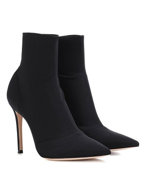 Gianvito Rossi Elite stretch ankle boots