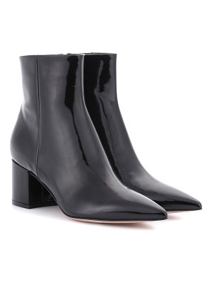 Gianvito Rossi Piper patent leather ankle boots