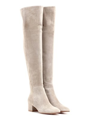 Gianvito Rossi Rolling Mid suede over-the-knee boots