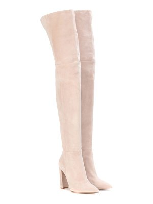 Gianvito Rossi exclusive to mytheresa.com - suede over-the-knee boots