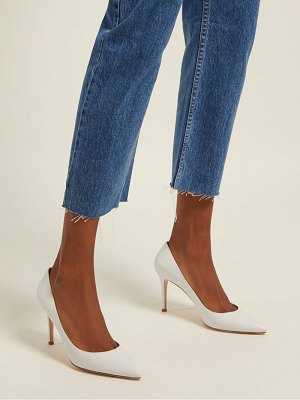 Gianvito Rossi gianvito 85 point toe leather pumps