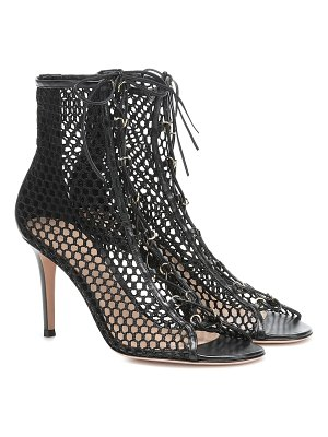Gianvito Rossi helena 85 leather ankle boots