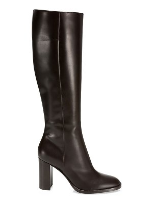 Gianvito Rossi josseline calf-high leather boots