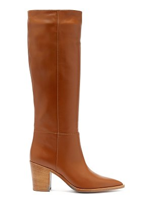 Gianvito Rossi Knee High Leather Boots