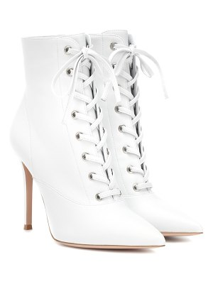 Gianvito Rossi exclusive to mytheresa – lace-up leather ankle boots