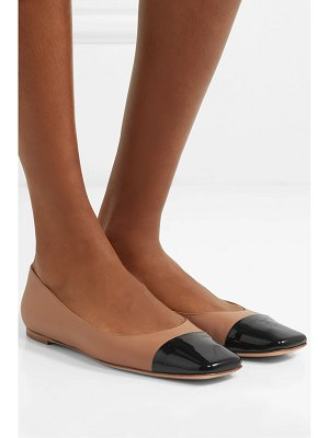 Gianvito Rossi leather ballet flats