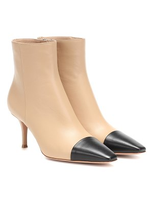 Gianvito Rossi lucy leather ankle boots