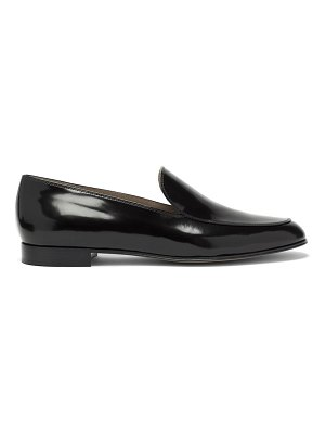 Gianvito Rossi marcel patent-leather loafers