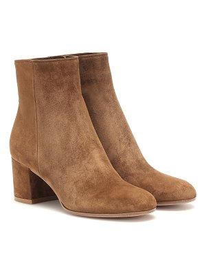 Gianvito Rossi margeux suede ankle boots