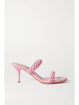 Gianvito Rossi marley 70 braided leather sandals