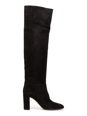 Gianvito Rossi melissa 85 knee high suede boots