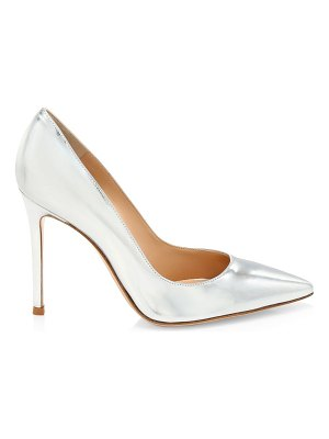 Gianvito Rossi gianvito metallic leather pumps