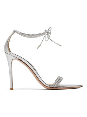 Gianvito Rossi montecarlo 105 crystal-embellished leather sandals