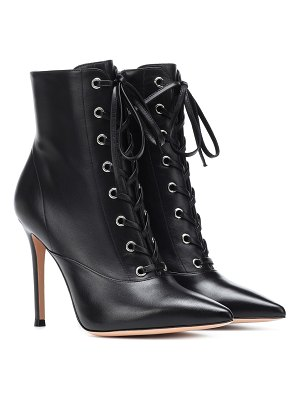 Gianvito Rossi exclusive to mytheresa – neville leather ankle boots