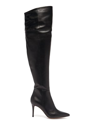 Gianvito Rossi over-the-knee 85 leather boots