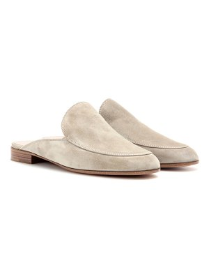 Gianvito Rossi Palau suede slippers