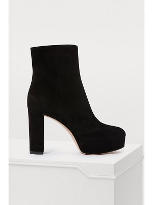 Gianvito Rossi Platform ankle boots