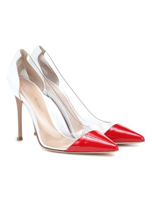 Gianvito Rossi Plexi 105 patent leather pumps